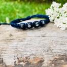 Punutud käepael ISSI (navy sinine)
